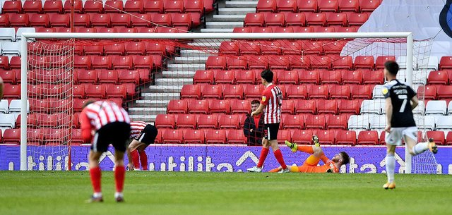 Sunderland twice gave away the lead to draw with Accrington Stanley