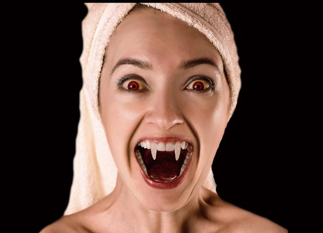 Vampire facials leave your fangs so smooth ... and your wallet so empty!
