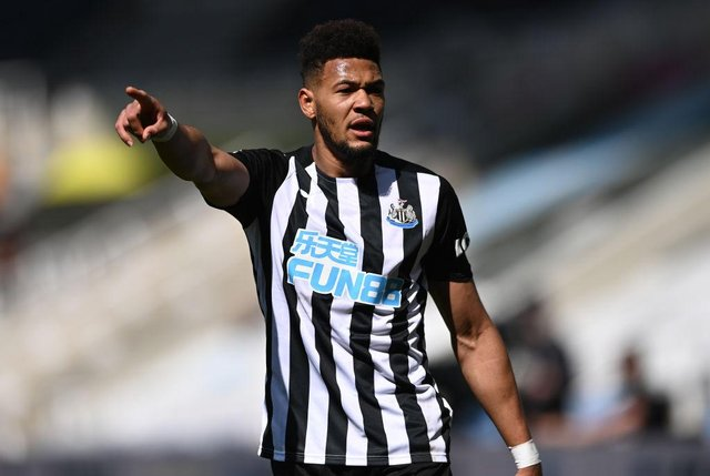 Newcastle United forward Joelinton has provided his views on the failed European Super League. (Photo by Stu Forster/Getty Images)