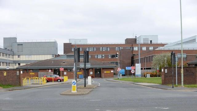 South Tyneside Hospital.