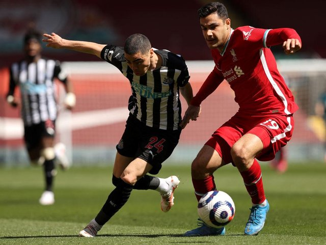 Newcastle United almost signed Ozan Kabak in January before Liverpool swooped in at the last minute. (Photo by Clive Brunskill/Getty Images)