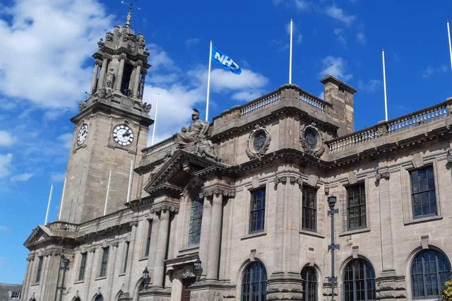 The meeting took place at South Shields town hall