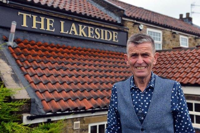Lakeside Inn Manager Carl Mowatt