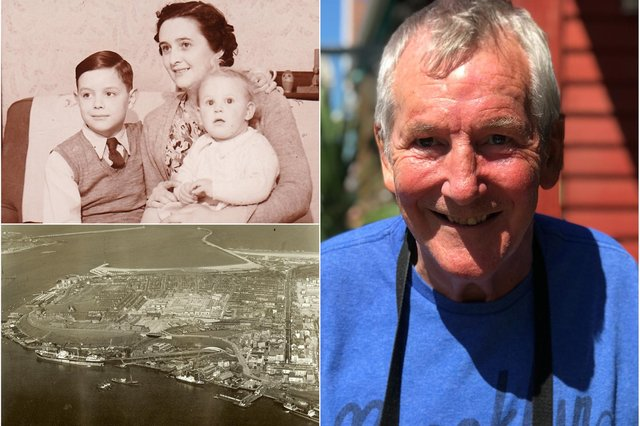 Colin Campbell who shared his memories of life on South Tyneside.