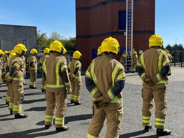 Firefighters across the region will hold a minute's silence to commemorate the day.