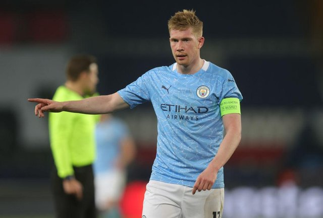 Kevin de Bruyne will miss Manchester City's trip to Newcastle United on Friday night. (Photo by Alex Grimm/Getty Images)