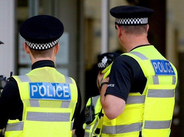 Police are investigating the report that a woman was assaulted in her own home