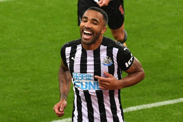 Newcastle United striker Callum Wilson. (Photo by Stu Forster/Getty Images)
