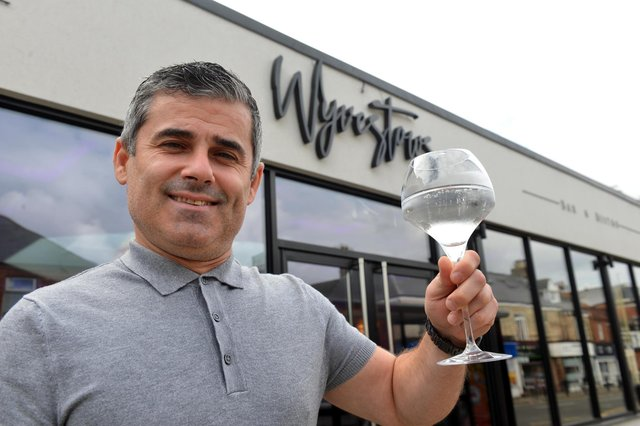 The new Wyvestow's Bistro and Bar is gearing up to open. Manager, Vane Ristov.