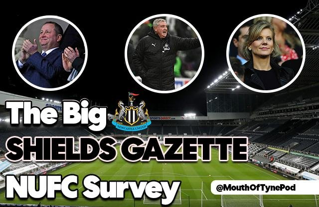 The results are in from The Big Shields Gazette NUFC Survey - and here's your thoughts on Steve Bruce, his future and Graeme Jones.