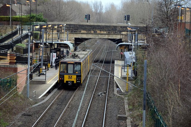 Police were called to Simonside Metro station.