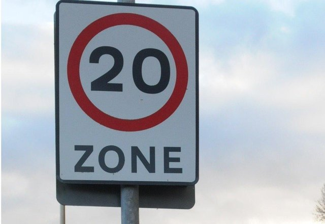 New speed restrictions are in place