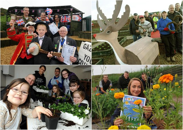 Allotment photos galore but who do you recognise in these photos.
