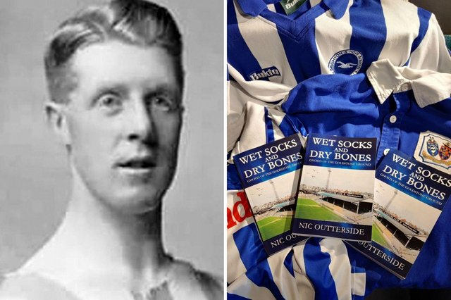 The story of Jasper Batey features in a new book about former Brighton players