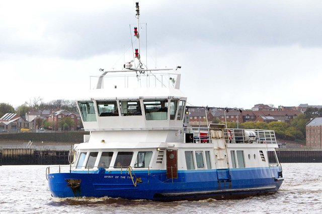 The Shields Ferry.