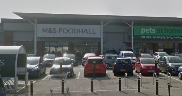 A South Shields thief has been jailed after he admitted stealing alcohol and groceries from this M&S store.