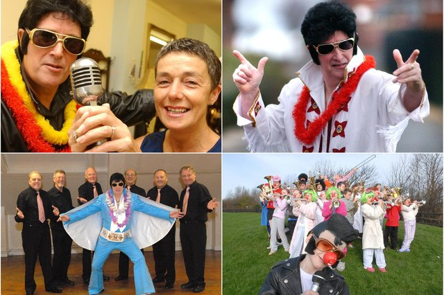 A tribute to Elvis from South Tyneside over the years.