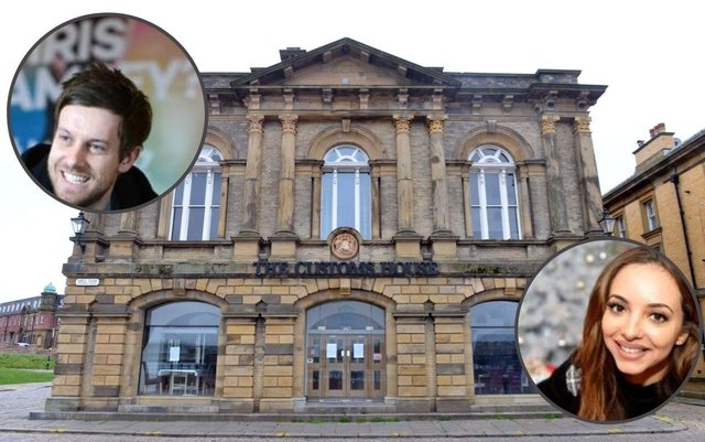 Jade Thirlwall and Chris Ramsey are delighted the Customs House has secured the funds to help it reopen.