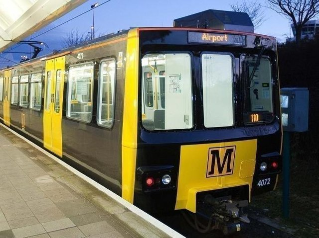 File picture: Metro suspension in place due to fire near Pelaw