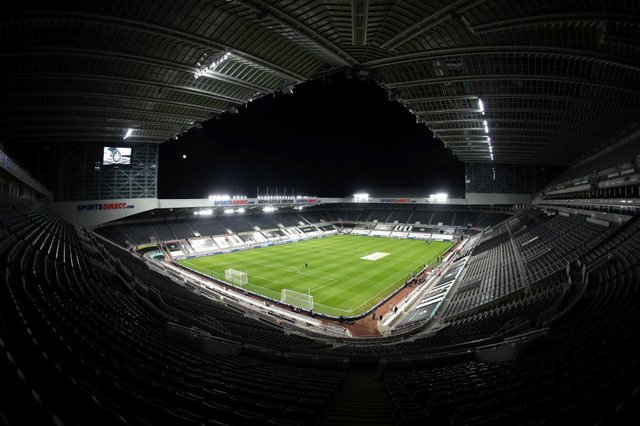 St James' Park, the home of Newcastle United Football Club. (Photo by Alex Pantling/Getty Images)