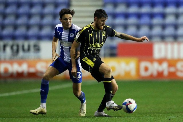 Newcastle United are reportedly looking to hijack Celtic's move for Wigan Athletic sensation Kyle Joseph. (Photo by Lewis Storey/Getty Images)