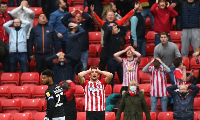 It looks like Charlie Wyke's time on Wearside has come to an end.