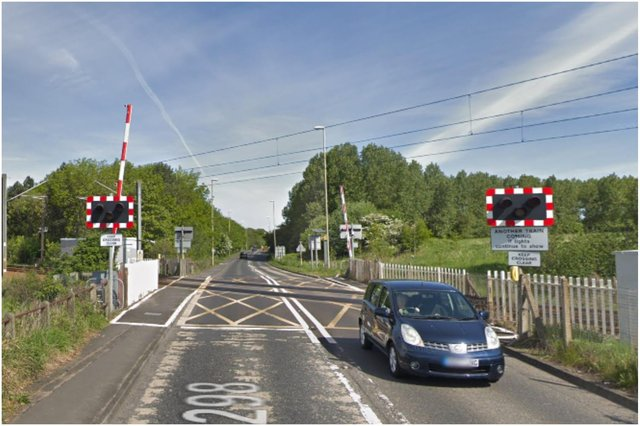 Network Rail has reassured drivers that the Boldon Lane level crossing is safe. Image by Google Maps.
