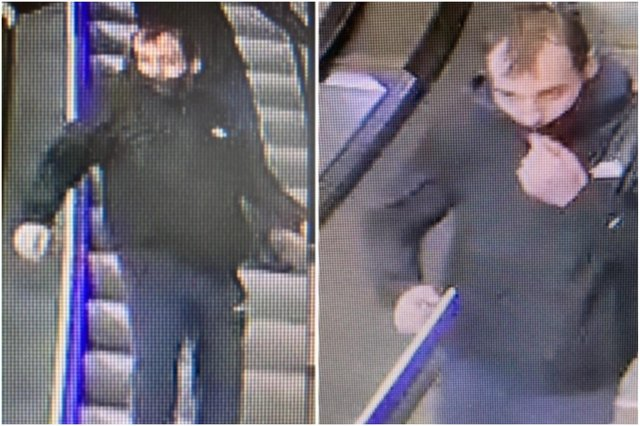 Police have released this image of a man they want to speak to following the incident.