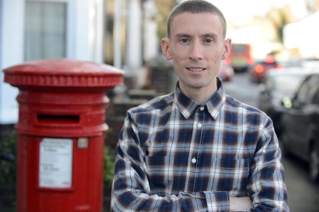 Christopher Head, former postmaster at West Boldon Post Office.