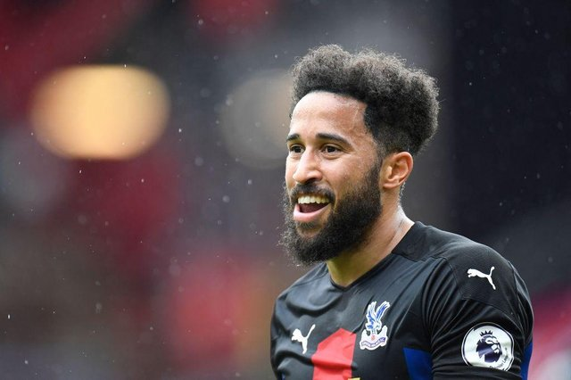 Former Newcastle United winger Andros Townsend is set to become a free agent this summer. (Photo by PETER POWELL/POOL/AFP via Getty Images)