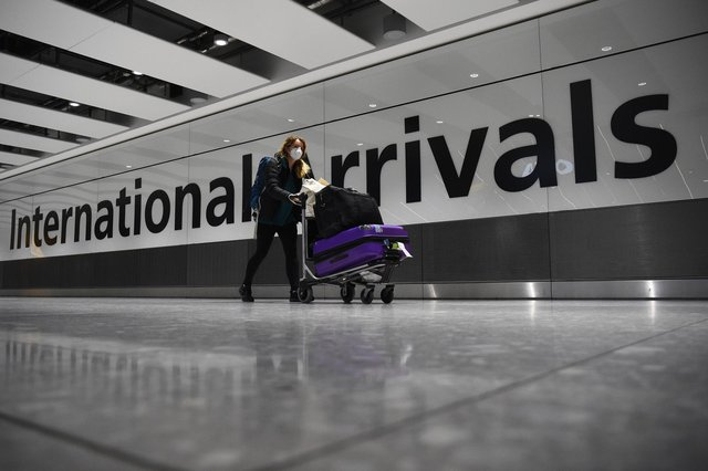 """Travellers face fines of up to £5,000 from next week if they leave the UK without a """"reasonable excuse"""". Photo: PA"""