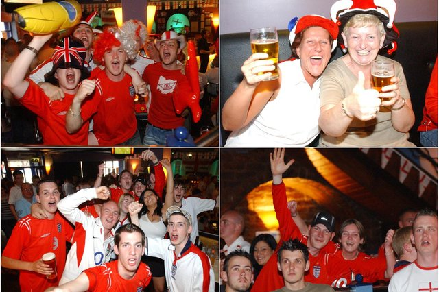 All the excitement of watching England. Take a look.