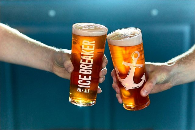 A free pint is on offer to every customer at participating bars