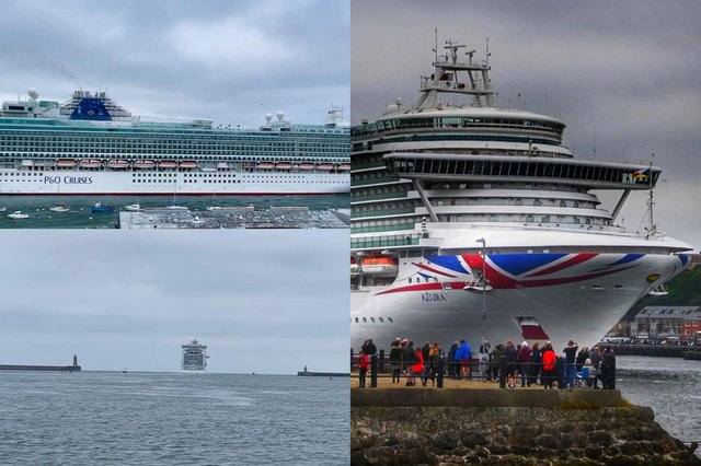 The ship Azura sailed out of South Shields on Tuesday, June 29.