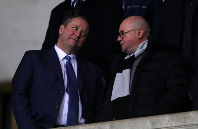 Newcastle United owner Mike Ashley. (Photo by Catherine Ivill/Getty Images)