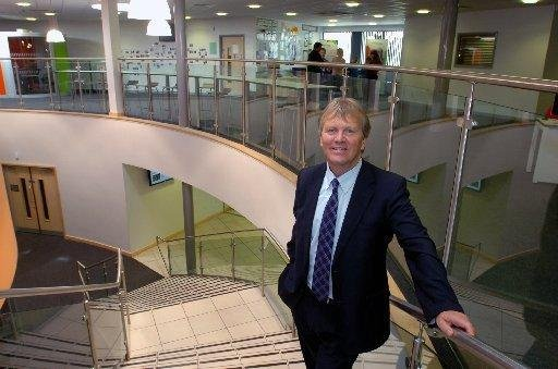 Ken Gibson, the head teacher at Harton Academy in South Shields