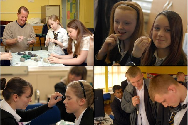 Who do you recognise in these 2007 photos at King George V School?