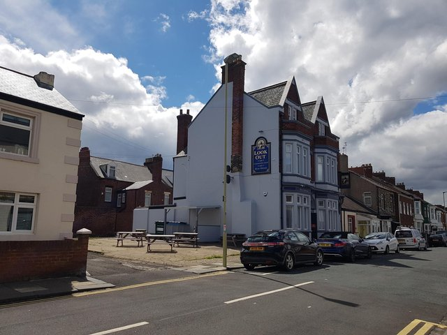 The Look Out pub, South Shields (May, 2021)