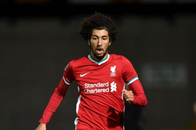 Newcastle United are close to signing Remi Savage from Liverpool. (Photo by Gareth Copley/Getty Images)