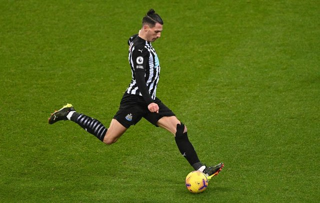 Newcastle United defender Fabian Schar (Photo by Stu Forster/Getty Images)