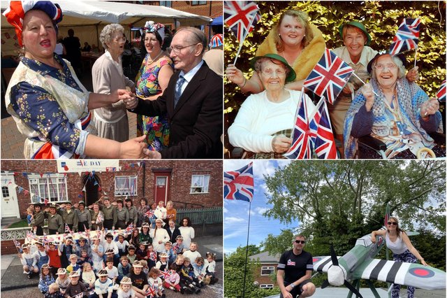 Memories of your South Tyneside VE anniversary events. Are you pictured?
