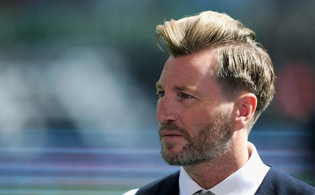 Former Birmingham City and Blackburn Rovers midfielder Robbie Savage. (Photo by Stu Forster/Getty Images)