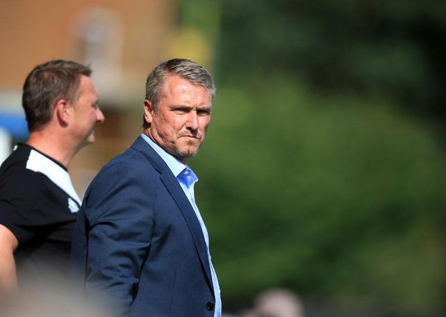 Newcastle United legend Lee Clark has become manager of Sudan club Al-Merrikh SC. (Photo by Clint Hughes/Getty Images)
