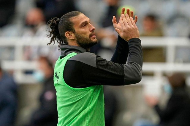 Newcastle United have released Andy Carroll following his second stint with his boyhood club. (Photo by OWEN HUMPHREYS/POOL/AFP via Getty Images)