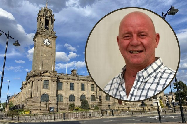Independent councillor John Robertson has been made subject to sanctions.