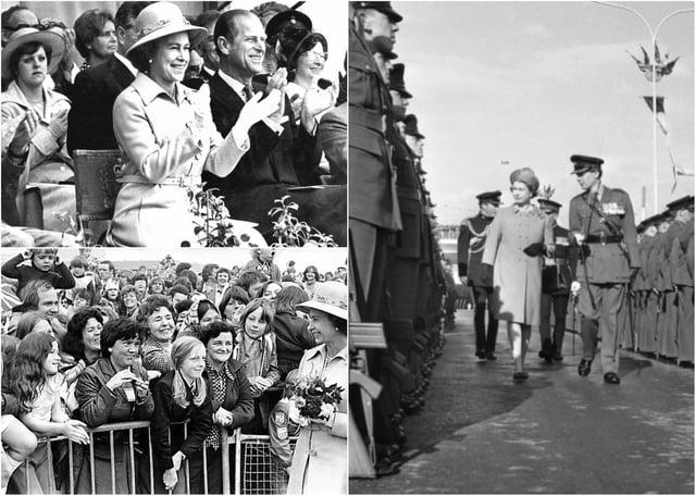 A tribute to the Queen on her birthday.  Photo: Freddie Muddit (Fietscher Fotos)
