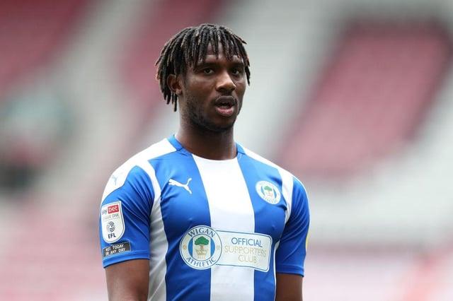 Viv Solomon-Otabor of Wigan Athletic.