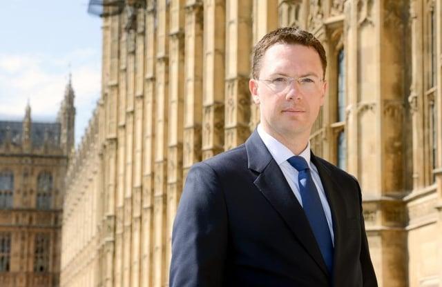 Maritime Minister Robert Courts