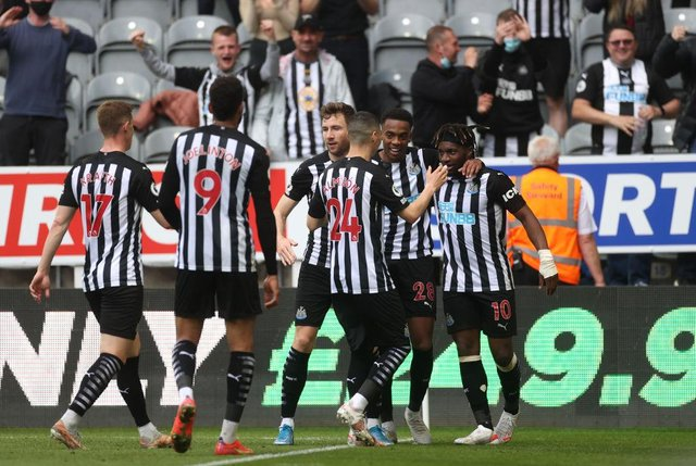 This is where Newcastle United were predicted to finish in the Premier League at the start of the season v where they actually finished. (Photo by Carl Recine - Pool/Getty Images)