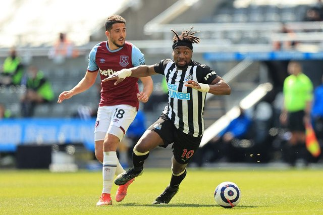 Allan Saint-Maximin of Newcastle United. (Photo by David Rogers/Getty Images)